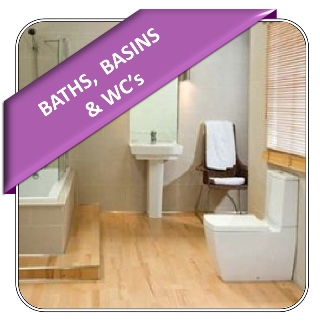 Baths, Basins & WC's